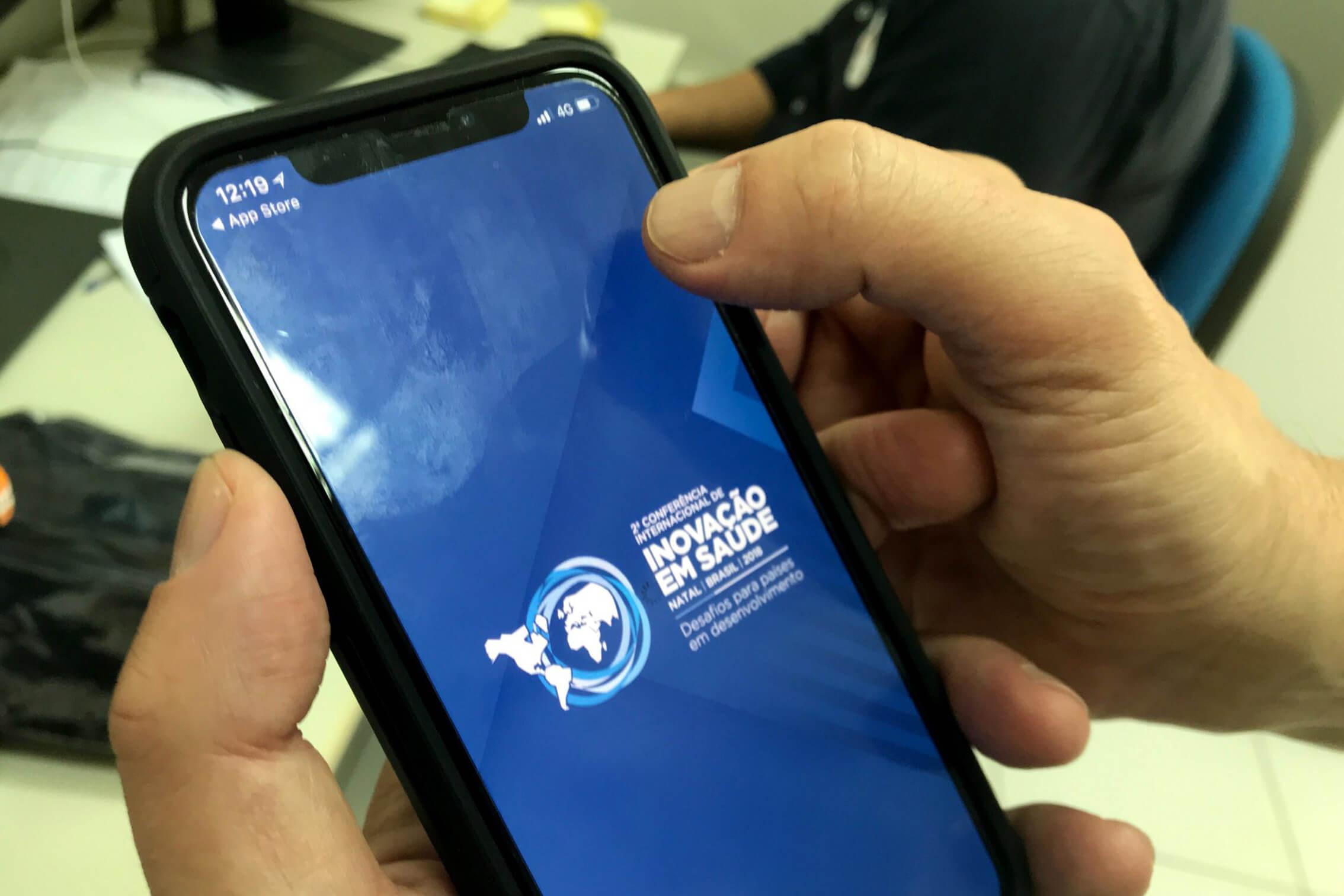 Conferência Internacional de Inovação em Saúde lança aplicativo; evento terá transmissão pelo G1